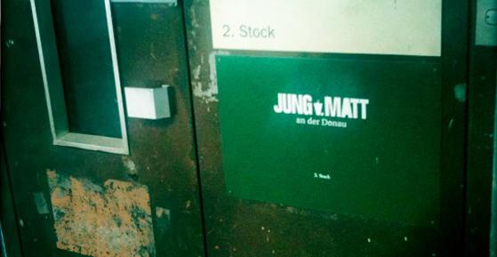 Der Lift von Jung von Matt/Donau